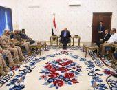 الرئيس اليمني يستقبل محافظ حضرموت